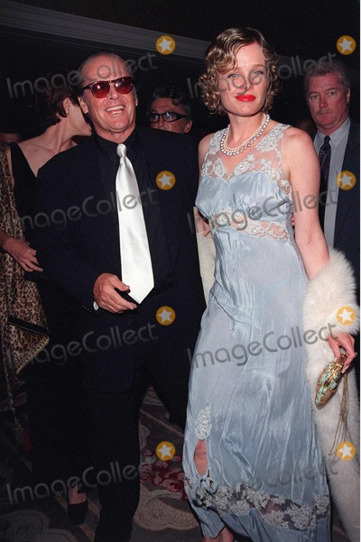 Jack Nicholson, Rebecca Broussard, Sumner Redstone, The National, Jackée Photo - 23APR98:  Actor JACK NICHOLSON & girlfriend REBECCA BROUSSARD at the National Conference of Christians & Jews Humanitarian Award dinner honoring Viacom chairman Sumner Redstone.