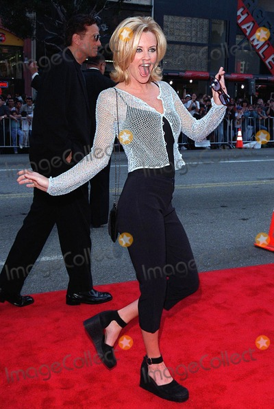 """Photo - 15MAR98:  Actress JENNY McCARTHY at 20th anniversary re-premiere of """"Grease"""" at Mann's Chinese Theatre, Hollywood."""