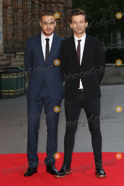 Cinderella, Liam Payne, Louis Tomlinson, James Smith Photo - Liam Payne & Louis Tomlinson at the Believe In Magic Cinderella Ball held at the Natural History Museum, London. August 10, 2015  London, UKPicture: James Smith / Featureflash