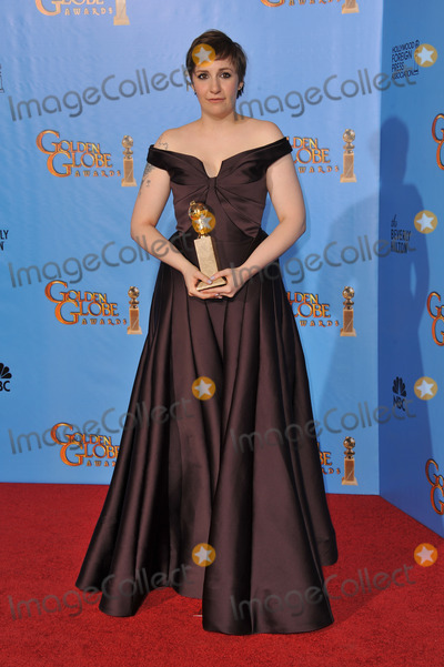 Lena Dunham Photo - Lena Dunham at the 70th Golden Globe Awards at the Beverly Hilton Hotel.January 13, 2013  Beverly Hills, CAPicture: Paul Smith / Featureflash