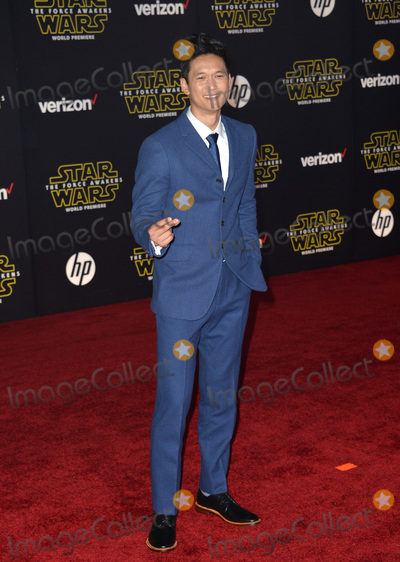 """Harry Shum, Harry Shum Jr., Harry Shum, Jr. Photo - Actor Harry Shum Jr. at the world premiere of """"Star Wars: The Force Awakens"""" on Hollywood Boulevard.December 14, 2015  Los Angeles, CAPicture: Paul Smith / Featureflash"""