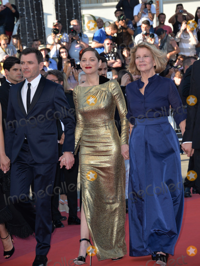 """Marion Cotillard, Nicole Garcia, Alex Brendemuhl Photo - Director Nicole Garcia & actors Alex Brendemuhl & Marion Cotillard at the gala premiere of """"From the Land of the Moon"""" (""""Mal de Pierres"""") at the 69th Festival de Cannes.May 15, 2016  Cannes, FrancePicture: Paul Smith / Featureflash"""