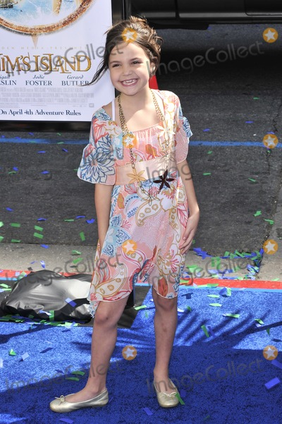 """Bailee Madison, Grauman's Chinese Theatre Photo - Bailee Madison at the world premiere of """"Nim's Island"""" at Grauman's Chinese Theatre, Hollywood.March 30, 2008  Los Angeles, CAPicture: Paul Smith / Featureflash"""