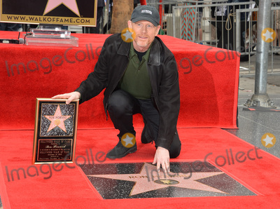 Ron Howard Photo - Director Ron Howard on Hollywood Boulevard where he was honored with the 2,568th star on the Hollywood Walk of Fame. It is his second star, his first was awarded for his TV work in 1981.December 10, 2015  Los Angeles, CAPicture: Paul Smith / Featureflash