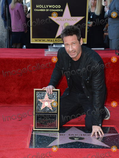 David Duchovny Photo - Actor David Duchovny on Hollywood Boulevard where he was honored with the 2,572nd star on the Hollywood Walk of Fame.January 25, 2016  Los Angeles, CAPicture: Paul Smith / Featureflash