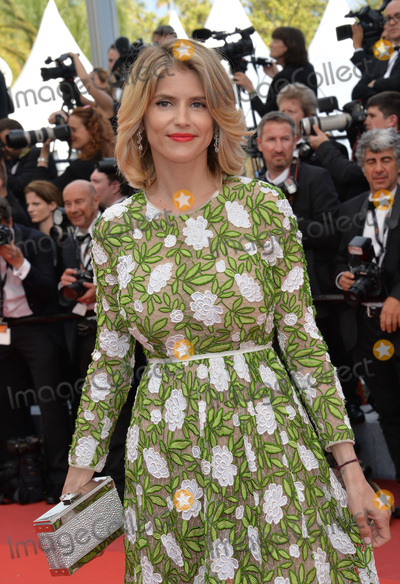 """Alice Taglioni, Woody Allen Photo - Alice Taglioni at the gala premiere of Woody Allen's """"Cafe Society"""" at the 69th Festival de Cannes.May 11, 2016  Cannes, FrancePicture: Paul Smith / Featureflash"""