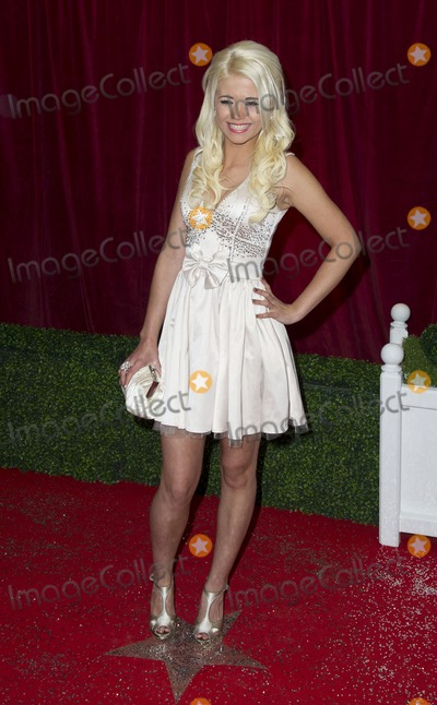 Danielle Harold Photo - Danielle Harold arriving for the 2012 British Soap Awards , LWT Southbank, London.28/04/2012 Picture by: Simon Burchell / Featureflash