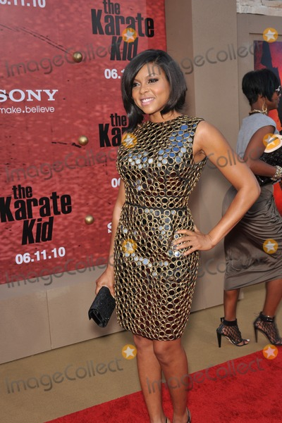 """Taraji P Henson, Taraji P. Henson, Taraji Henson Photo - Taraji P. Henson at the Los Angeles premiere of her new movie """"The Karate Kid"""" at Mann Village Theatre, Westwood.June 7, 2010  Los Angeles, CAPicture: Paul Smith / Featureflash"""