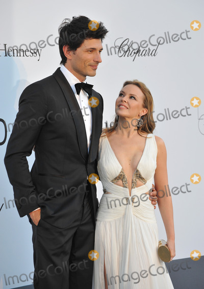 Andres Velencoso, Kylie Minogue Photo - Kylie Minogue & Andres Velencoso at amfAR's 20th Cinema Against AIDS Gala at the Hotel du Cap d'Antibes, FranceMay 23, 2013  Antibes, FrancePicture: Paul Smith / Featureflash