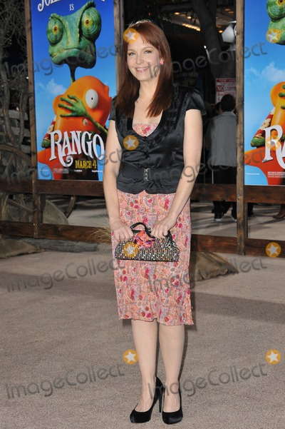 "Amy Yasbeck, The Animals Photo - Amy Yasbeck at the Los Angeles premiere of the animated movie ""Rango"" at the Regency Village Theatre, Westwood.