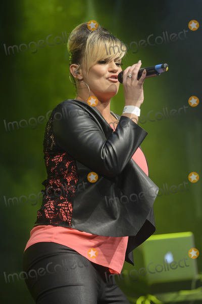 Kerry Katona, Atomic Kitten, Kerry Bishé Photo - Kerry Katona  of Atomic Kitten on stage at Gay Pride 2015 in Manchester, Canal Street, Manchester