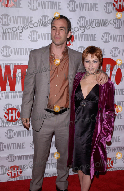 "Bryan Callen Photo - February 23, 2005: Los Angeles, CA: BRYAN CALLEN & wife at the premiere of his new movie ""Fat Actress"" at the Cinerama Dome, Hollywood