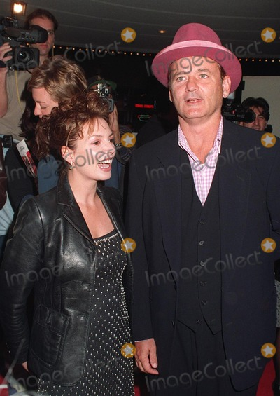 "Bill Murray, Joanne Whalley Photo - 11NOV97: Actor BILL MURRAY & British actress JOANNE WHALLEY at premiere in Los Angeles of their new movie, ""The Man Who Knew Too Little."""