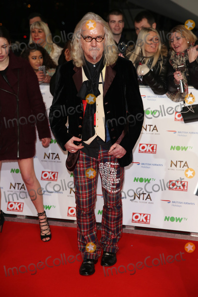 Billy Connolly, James Smith Photo - Billy Connolly at The National Television Awards 2016 (NTA's) held at the O2 Arena, London. 
