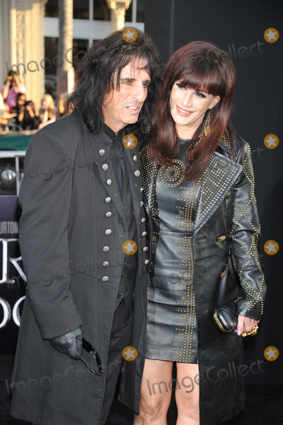 Alice Cooper_guest, Alice Cooper, Grauman's Chinese Theatre Photo - Musician Alice Cooper and guest arrive at the premiere of Warner Bros. Pictures' 'Dark Shadows' at Grauman's Chinese Theatre.