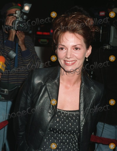 """Joanne Whalley Photo - 11NOV97: British actress JOANNE WHALLEY at premiere inLos Angeles of her new movie, """"The Man Who Knew Too Little."""""""