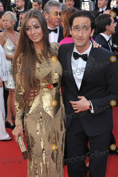 "Adrien Brody, Lara Lieto Photo - Adrien Brody & Lara Lieto at gala premiere for ""Behind the Candelabra"" at the 66th Festival de Cannes.