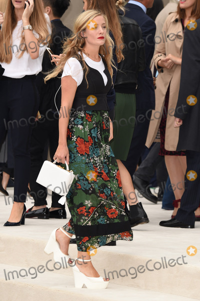 fa63eef61bbc Photos and Pictures - Kate Foley arriving for the Burberry Prorsum show at  London Fashion Week Spring Summer 2016. September 21