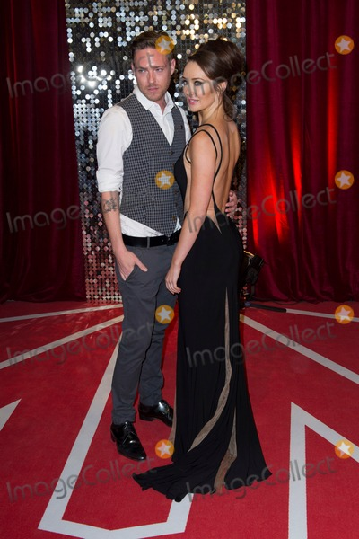 Andrew Moss, Claire Cooper Photo - Andrew Moss and Claire Cooper arriving for the 2013 British Soap Awards, Media City, Manchester. 18/05/2013 Picture by: Simon Burchell / Featureflash