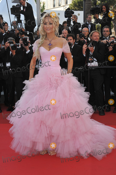 """Adriana Karembeu Photo - Adriana Karembeu at the gala premiere of """"The Beaver"""" in competition at the 64th Festival de Cannes.May 17, 2011  Cannes, FrancePicture: Paul Smith / Featureflash"""