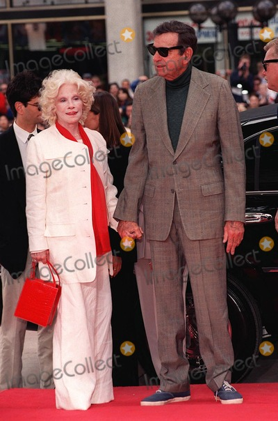 Walter Matthau Photo - 02APR98: Actor WALTER MATTHAU & wife at the Mann's Chinese Theatre, Hollywood, where he became the 213th person to leave his hand & footprints in cement.