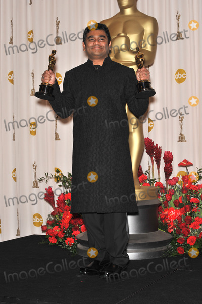 A.R. Rahman, AR Rahman Photo - A.R. Rahman at the 81st Academy Awards at the Kodak Theatre, Hollywood.