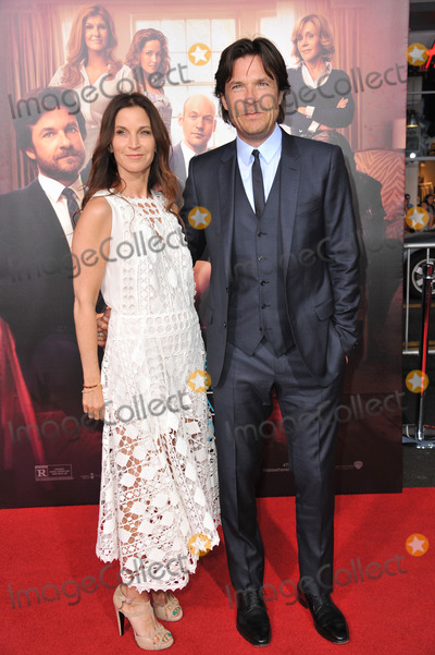 "Amanda Anka, Jason Bateman, TCL Chinese Theatre Photo - Jason Bateman & wife Amanda Anka at the Los Angeles premiere of his movie ""This Is Where I Leave You"" at the TCL Chinese Theatre, Hollywood.
