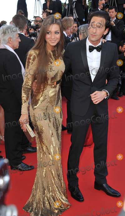 """Adrien Brody, Lara Lieto Photo - Adrien Brody & Lara Lieto at gala premiere for """"Behind the Candelabra"""" at the 66th Festival de Cannes.May 21, 2013  Cannes, FrancePicture: Paul Smith / Featureflash"""