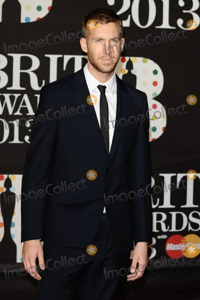 Calvin Harris Photo - Calvin Harris arrives for the Brit Awards 2013 at the O2 Arena, Greenwich, London. 20/02/2013 Picture by: Steve Vas / Featureflash