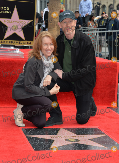Cheryl Howard, Ron Howard Photo - Director Ron Howard & wife Cheryl on Hollywood Boulevard where he was honored with the 2,568th star on the Hollywood Walk of Fame. It is his second star, his first was awarded for his TV work in 1981.December 10, 2015  Los Angeles, CAPicture: Paul Smith / Featureflash