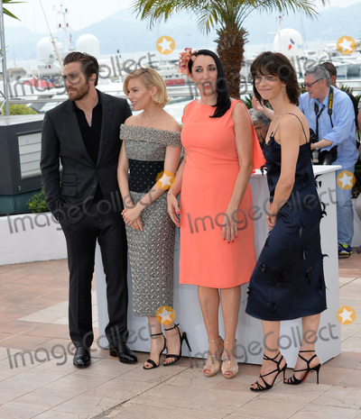 Jake Gyllenhaal, Rossy De Palma, Sienna Miller, Sophie Marceau, Cannes Jury, Anna Maria Perez de Taglé, Hüsker Dü, Isaach De Bankolé Photo - Jury members Jake Gyllenhaal, Sienna Miller, Rossy De Palma & Sophie Marceau at photocall for the Cannes Jury at the 68th Festival de Cannes.