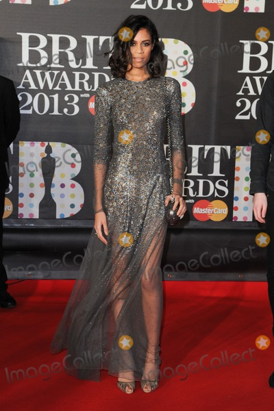 Aluna George Photo - Aluna George arrives for the Brit Awards 2013 at the O2 Arena, Greenwich, London. 20/02/2013 Picture by: Steve Vas / Featureflash