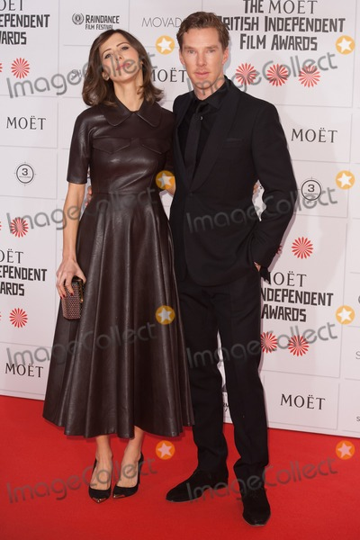 Benedict Cumberbatch, Sophie Hunter Photo - Benedict Cumberbatch and Sophie Hunter arriving for the Moet British Independent Film Awards 2014, London. 07/12/2014 Picture by: Alexandra Glen / Featureflash