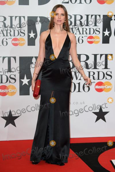 Alicia Rountree Photo - Alicia Rountree at The BRIT Awards 2016 at the O2 Arena, London.February 24, 2016  London, UKPicture: Steve Vas / Featureflash
