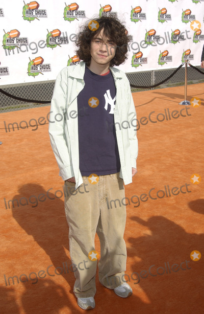 Adam Lamberg Photo - Actor ADAM LAMBERG at Nickelodeon's 16th Annual Kids' Choice Awards in Santa Monica.