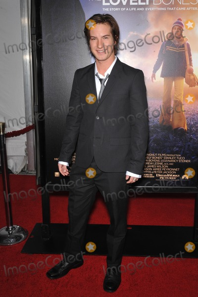 "Andrew James Allen, James Allen, Andrew Allen, Grauman's Chinese Theatre Photo - Andrew James Allen at the Los Angeles premier of his new movie ""The Lovely Bones"" at Grauman's Chinese Theatre, Hollywood.