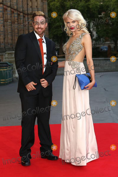 Cinderella, Stevi Ritchie, Chloe Jasmine, Chloe-Jasmine Whichello, James Smith Photo - Stevi Ritchie & Chloe-Jasmine Whichello at the Believe In Magic Cinderella Ball held at the Natural History Museum, London. August 10, 2015  London, UKPicture: James Smith / Featureflash