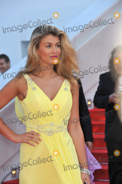 "Amy Willerton Photo - Amy Willerton at gala premiere of ""Clouds of Sils Maria"" at the 67th Festival de Cannes.
