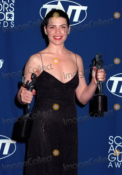 "Photo - 08MAR98:  ""ER"" star JULIANNA MARGOLIS at the Screen Actors Guild Awards in Los Angeles."