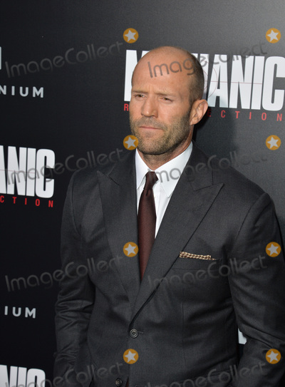 "Jason Statham Photo - LOS ANGELES, CA. August 22, 2016: Actor Jason Statham at the Los Angeles premiere of ""Mechanic: Resurrection"" at the Arclight Theatre, Hollywood.