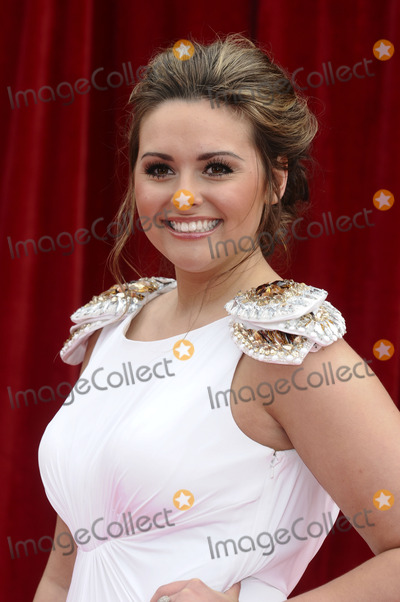 Photo - Kelsey Beth Crossley arrives at the British Soap awards 2011 held at the Granada Studios, Manchester.