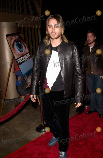Jared Leto Photo - Actor JARED LETO at the Los Angeles premiere, in Hollywood, of his new movie Requiem For A Dream.