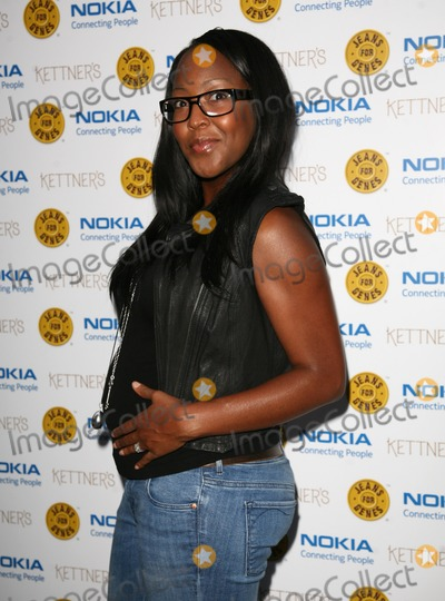 Angelica Bell Photo - Angelica Bell  arriving for the Jeans For Genes Launch Party, at Kettners, London. 06/09/2011  Picture by: Alexandra Glen / Featureflash