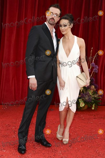 Clairer Cooper, Claire Cooper Photo - Emmet J Scanlan and Claire Cooper arrive at the British Soap awards 2011 held at the Granada Studios, Manchester.