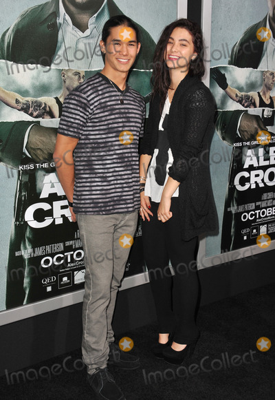 "BooBoo Stewart, Fivel Stewart Photo - Booboo Stewart & sister Fivel Stewart at the Los Angeles premiere of ""Alex Cross"" at the Cinerama Dome, Hollywood.