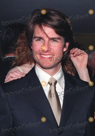 John Huston, Tom Cruise, The Artist Photo - 17APR98:  Actor TOM CRUISE at the Beverly Hilton Hotel where he was honored with the 1998 John Huston Award by the Artists Rights Foundation.
