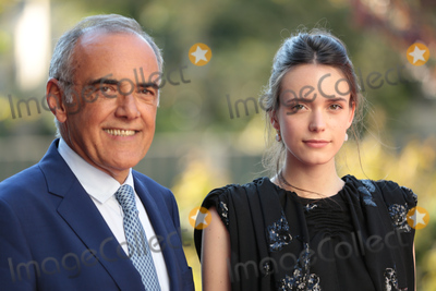 Alberto Barbera, Taj Mahal, Stacy Martin Photo - Venice Film Festival director Alberto Barbera & actress Stacy Martin  at the premiere of Taj Mahal at the 2015 Venice Film Festival.