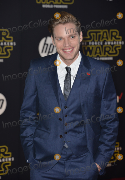 """Dominic Sherwood Photo - Actor Dominic Sherwood at the world premiere of """"Star Wars: The Force Awakens"""" on Hollywood Boulevard.December 14, 2015  Los Angeles, CAPicture: Paul Smith / Featureflash"""