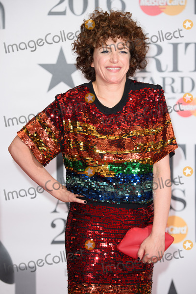 Annie Mac Photo - Annie Mac at The BRIT Awards 2016 at the O2 Arena, London.