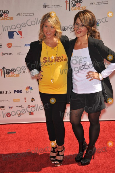Christina Applegate, Nia Vardalos, The Stands Photo - Christina Applegate & Nia Vardalos (right) at the Stand Up To Cancer event at Sony Pictures Studios, Culver City.September 10, 2010  Culver City, CAPicture: Paul Smith / Featureflash